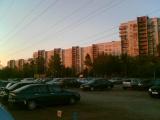 Закат на Ржевке