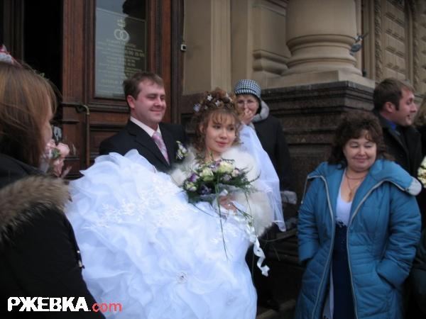 Во дворце бракосочетаний